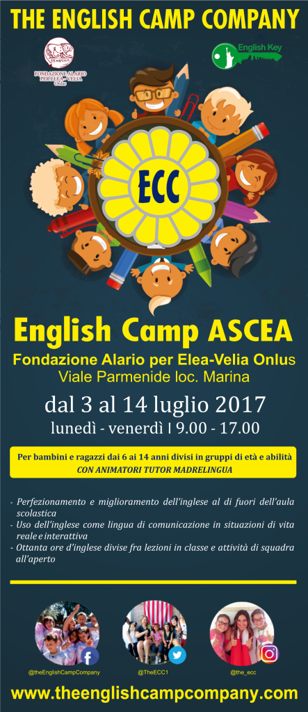 English Camp_volantino